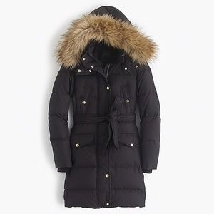 J Crew puffy coat *like new*